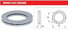 NORD LOCK WEDGE LOCK METRIC WASHERS SIZE M8 x 8.6D x 13.5D1 x 2.7H (4 SETS)