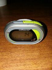 Highgear Fitware Sports Clip Pedometer Step Counter, Calorie Counter ,heart mon