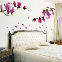 3D Flower Tree Removable Mural Vinyl Decal Wall Sticker Art For Room Home Decor