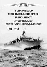 """Deutsche Gesch. * Torpedoschnellboots-Projekt """"Forelle"""" der Volksmarine , Nr. 63"""