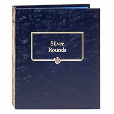 Whitman Classic Coin Album 9150 Silver Rounds 36 PORTS