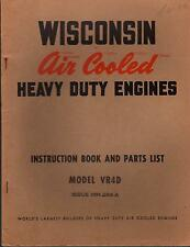 Wisconsin Air Cooled Heavy Duty Engines Vr4D Operators Manual Mm 284-A (413)