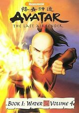 Avatar: The Last Airbender - Book 1: Water - Vol. 4 (DVD, 2006, Checkpoint)