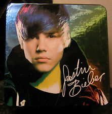 2011 JUSTIN BIEBER BRAVADO WATCH - MINT IN BOX -STILL ATTACHED TO COLLECTORS BOX