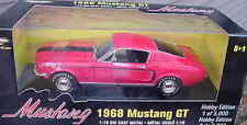 1968  Ford Mustang GT Red 1:18 Ertl American Muscle 33210