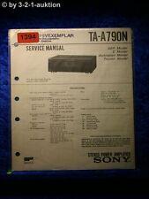 Sony Service Manual TA A790N Amplifier  (#1394)