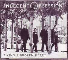 ☆ MAXI CD INDECENT OBSESSION  Fixing a broken heart Promo 1-track Jewel case  ☆