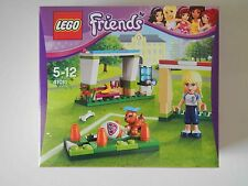 LEGO 41011 STEPHANIES SOCCER PRACTICE Friends Set Mini Doll Figure Scarlett Dog