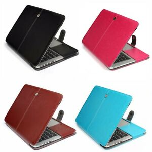 """For 12"""" Macbook Pro 13"""" CD drive/Retina/M1 Sleeve Case PU Leather Case Cover"""