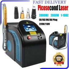 Picosecond Laser ND YAG Tattoo Eyebrow Pigment Removal Anti-Aging Machine Spa