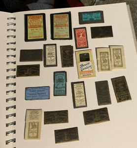 Lot of 19 Packages Antique Sewing Needles. Machine, Hand Sewing