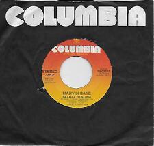 MARVIN GAYE  Sexual Healing / Sexual Healing Instrumental  original 45 from 1982