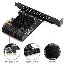 Desktop PCI-E to SATA 3.0 Controller Expansion Card 8-Port SATA 3.0 6Gbps Board