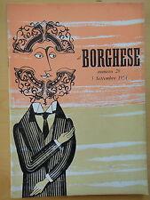1954-IL BORGHESE-Direttore LEO LONGANESI-Anno V, Numero 28