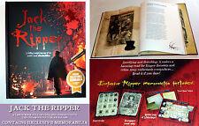 JACK THE RIPPER BOOK Memorabilia Map List HISTORY EDU True Crime Theory >A4 GIFT