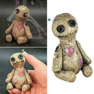 Voodoo Doll - Incense Cone Backflow Burner / Goth, Horror, Voodoo,