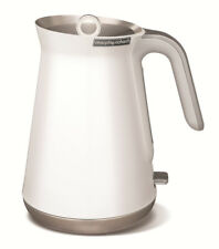 Morphy Richards 100003 Aspect Steel Jug Kettle in White With 2yr
