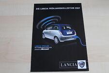 96889) Lancia Y Ypsilon - Phedra - Musa - Thesis - Prospekt 2007