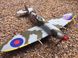 Dynam RC Plane Model 900mm Spitfire RTF Motor Propeller Servo Gyro Transmitter