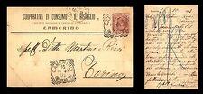 """Camerino - Cooperativa di Consumo """"Il Risveglio"""" - 16.10.1907"""