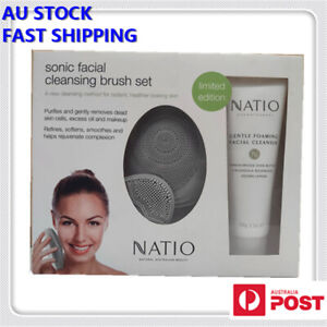 Natio Sonic Facial Cleansing Brush Set