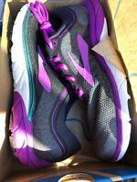 Brooks Running Women's PureCadence 7 Black/Purple/ -NIB Various Sizes