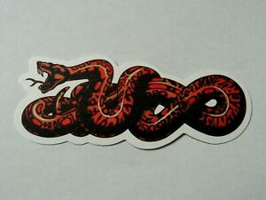Santa Cruz Skateboards Sticker ~New Skate Logo Decal~ Skater Snake