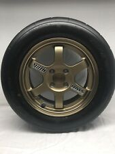 Rays Volk Racing TE37 Rims 14 x 6 hole 4 X 100 Wheels Nitto NT01 205/55/14