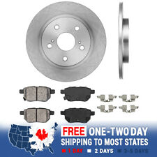 Rear Brake Rotors And Ceramic Pads For Pontiac Vibe Scion XB Toyota Matrix S