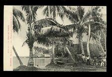 France Cols Pacific Polynesia ILES SOUS LE VENT Tahiti Huahine Fare Workers PPC