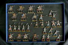 Plats d'étain Guerre de Trente ans - 30 figurines Zinnfiguren  Flat tin