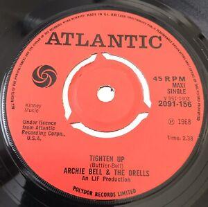 ARCHIE BELL & THE DRELLS *RARE* 3 track maxi single! Atlantic 2091 156 - *EX*