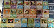 22 Pokemon Japanese 1996 Pocket Monsters Mixed Card Lot