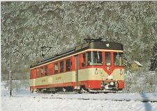 SWITZERLAND       Yverdon-Ste. Croix Bahn new motor car near Baulmes in 1982