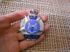 Obsolete Old Western Australia Police SHERIDAN PERTH enameled