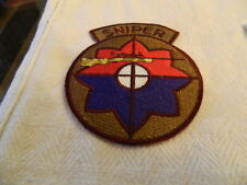 9th Infantry Division Sniper Color Patch (Draw#Z16)