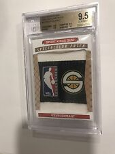 2015 Sport Kings Spectacular Jumbo 1/1 Rookie Logo Patch Kevin Durant BGS 9.5