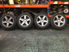 "CHRYSLER 300C 18"" ALLOY WHEELS AND TYRES 225/60/18"