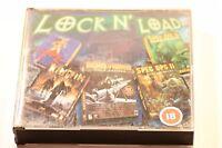 LOCK N LOAD JEWEL CASED VERSION SIN + SOLDIER FORTUNE + KINGPIN & SPEC OPS 2 PC