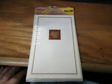 Wishing Thanksgiving 6 cards & envelopes Package Sealed NIP (All Same) Carlton