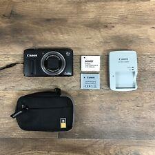 Canon PowerShot SX260 HS 12.1MP Digital Camera Black SX260HS Image Stabilization
