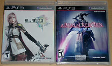 PS3 Game Lot - Final Fantasy XIII (Used) A Realm Reborn Final Fantasy XIV (New)