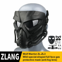 Full Face Motorbike Bike / Motorcycle Helmet Mask Goggles Protective Mask Cool