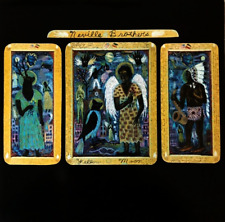 THE NEVILLE BROTHERS ‎- Yellow Moon (LP) (VG-EX/VG)