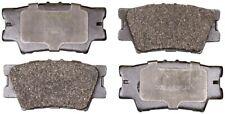 Rear Disc Brake Ceramic Pads Monroe Brakes CX1212 for Lexus ES350 Toyota RAV4