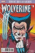True Believers WOLVERINE #1 (Reprint / Limited Series / 1982 / NM)