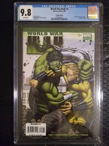 World War Hulk 5, Variant Cover Romita Jr. CGC 9.8, 1st Full Appearance Of Skaar