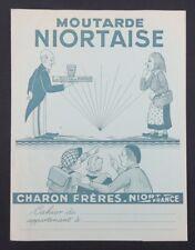 Protège cahier MOUTARDE NIORTAISE CHARON NIORT marais Poitevin copybook