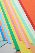 Colour Card Stock 260gsm blank A4 A5 DIY Sizzix Cricut wedding craft cardmaking