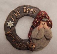 Boyds Magnet (Made From Pin) Carvers Choice Santa . In The Nick Of Time